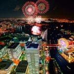 横浜開港祭2017花火大会の日にちと時間を確認!穴場スポットは?