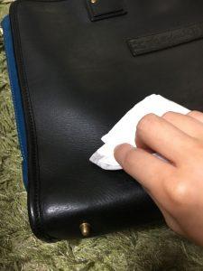 革鞄の補修