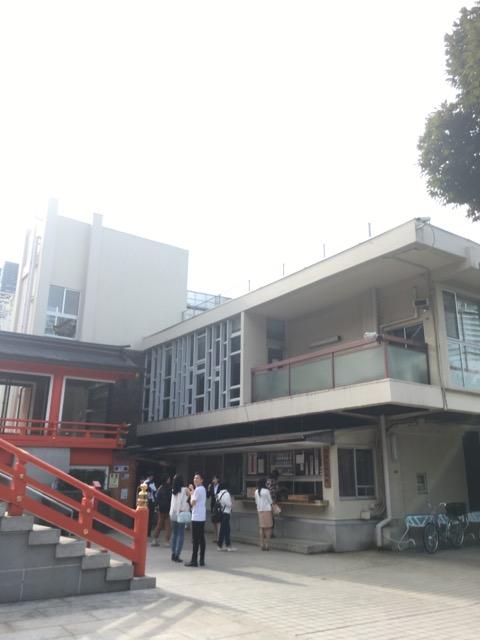 花園神社の社務所