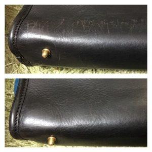 革鞄補修前後比較